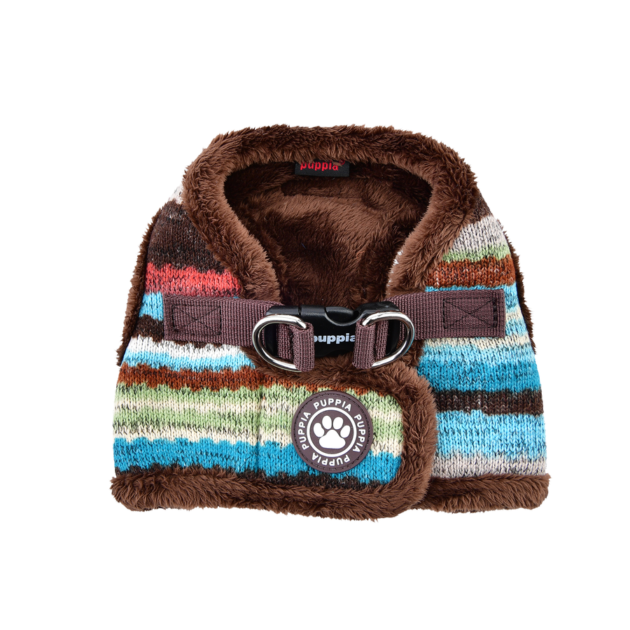 Puppia Crayon Harness Typ B brown