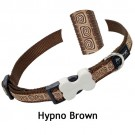 Red Dingo Halsband Design Hypno Brown