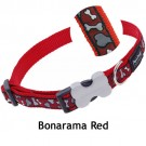 Red Dingo Halsband Design Bonarama Red