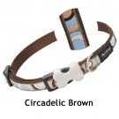 Red Dingo Halsband Design Circadelic Brown