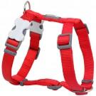 Red Dingo Hundegeschirr Uni rot