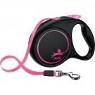 Flexi Fun Gurt Leine Limited Edition Neon-Pink