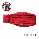 Wolters Zopf-Strickpullover rot
