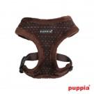 Puppia Yuppie Harness Typ A braun