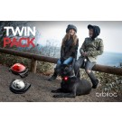 Orbiloc Dog Dual Safety Light Twin Pack