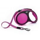 Flexi New Comfort Gurt Leine pink L5