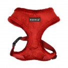 Puppia Terry Harness Typ A rot/weinrot